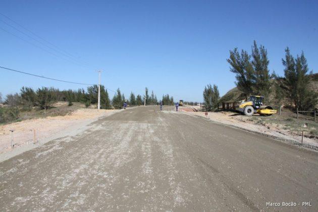 Acesso estará pavimentado durante a alta temporada de verão  -  Foto: Prefeitura de Laguna/divulgação /notisul