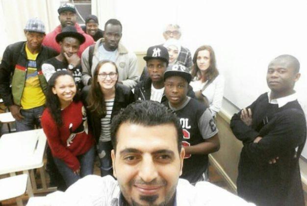 Imigrantes de diferentes países recebem apoio do Projeto Acolhida  -  Fotos: arquivo pessoal/divulgação/notisul
