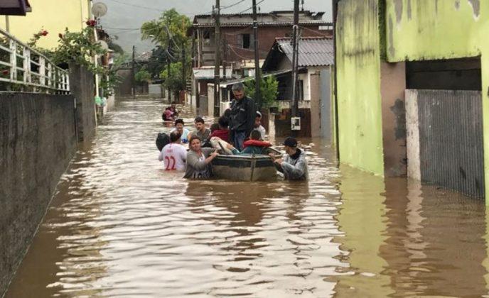 Chuva em Florianópolis