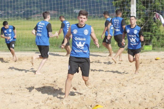 Preparação da equipe foi intensa para a Copa Verão Capão da Canoa de Futsal  -  Foto: Fogaça Comunicação/Tubarão Futsal/divulgação/notisul