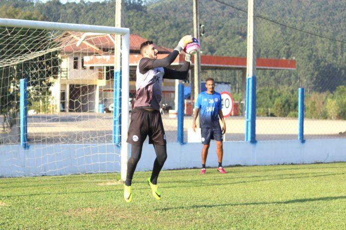 Beliatto foi o destaque do Peixe na última rodada do estadual. Foto: CATubarão