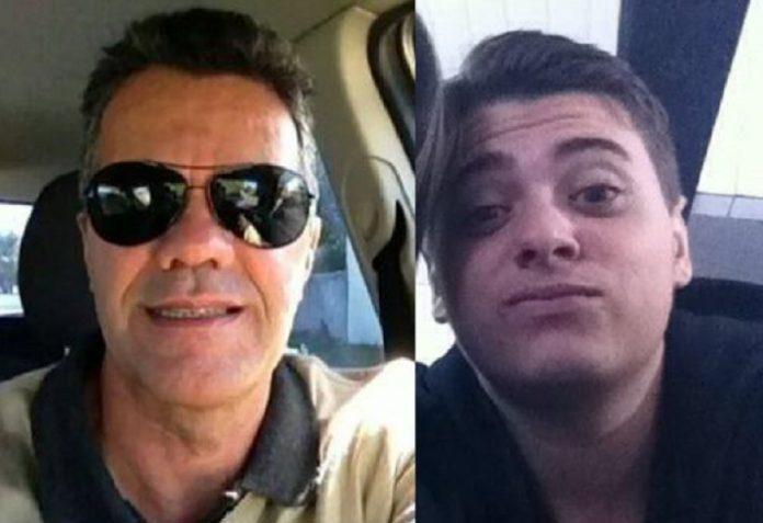 Piloto Antônio Mário Franco Aguiar e o auxiliar de voo Bruno Siqueira, 20 anos | Foto Montagem/Reprodução