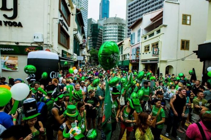 Festa muito popular pelo mundo chega forte na região. Foto: irish Chamber Commerce/Divulgação