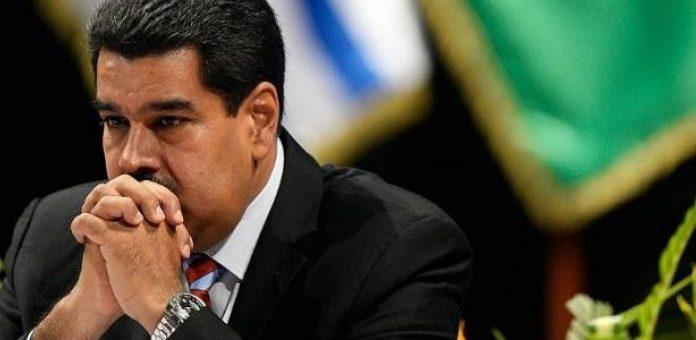 O presidente da Venezuela, Nicolás Maduro: país vizinho parou de pagar dívida com BNDES em janeiro