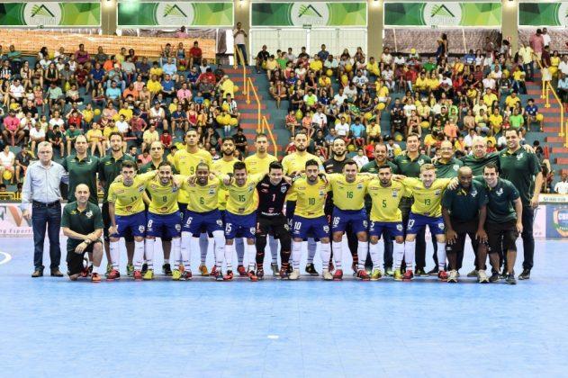 A Seleção Brasileira é heptacampeã mundial  -  Foto: Ricardo Artifon/CBFS/Divulgação/Notisul