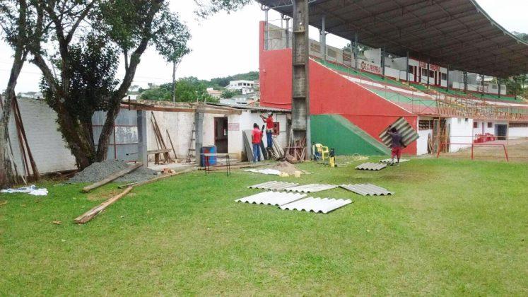 Estádio Mário Balsini, do Próspera, teve reformas para a Série C  -  Foto: ECPróspera/Divulgação/Notisul