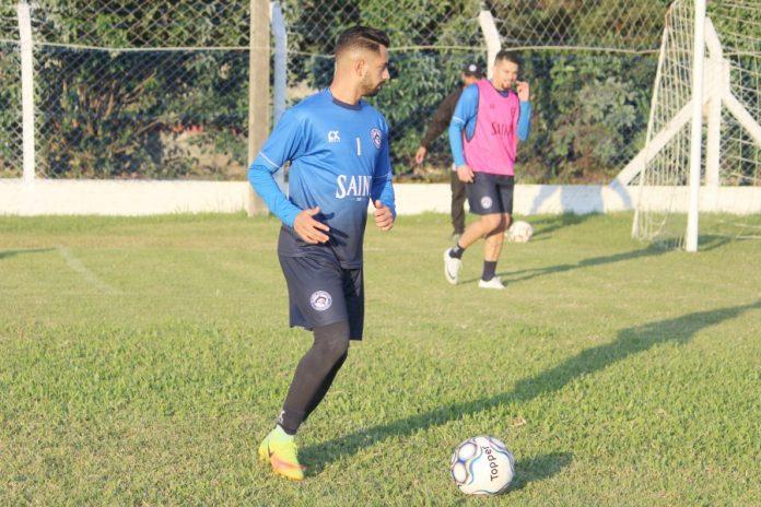 Atletas do Peixe já iniciaram a preparação para o jogo deste domingo  -  Foto: Atlético Tubarão/Divulgação/Notisul