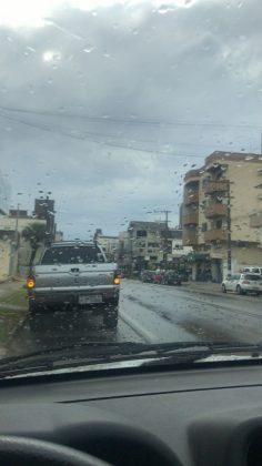 Em Braço do Norte já está chovendo