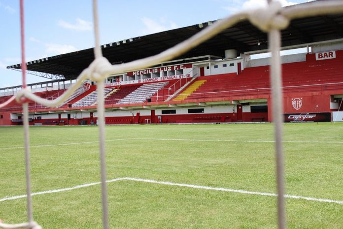 Venda do Estádio Aníbal Costa pode marcar profissionalização e modernização do Hercílio Luz - Foto: Lara de Oliveira/Hercílio Luz/Divulgação/Notisul