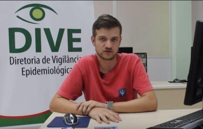 João Fuck, técnico da Dive / Divulgação