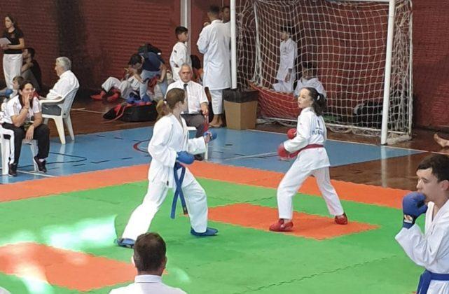 Competição de Osasco rendeu duas medalhas para a atleta. - Foto: Arquivo Pessoal/Divulgação/Notisul