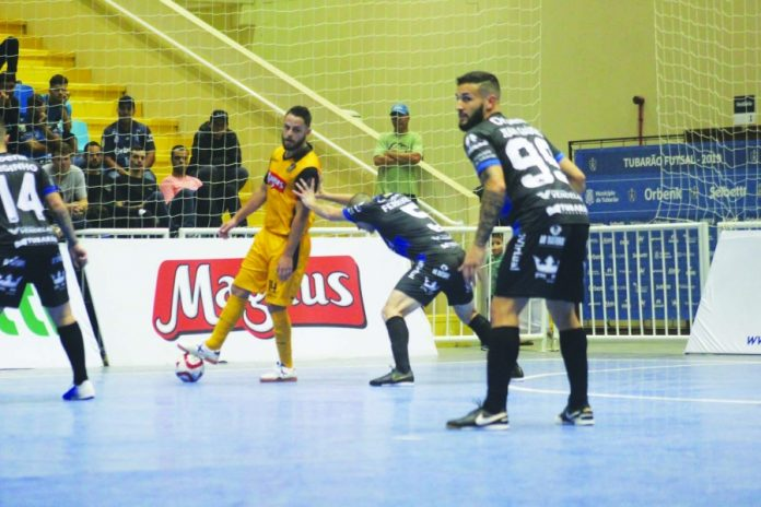 Tubarão Futsal//divulgação/Notisul