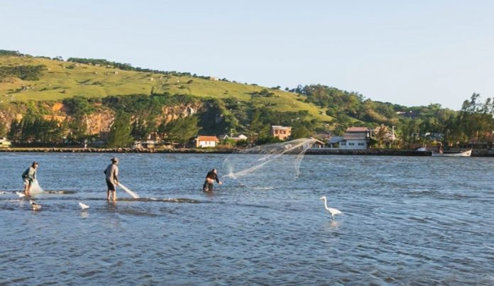 Foto: Wilson Schuelter/ Canal dos Molhes - Laguna