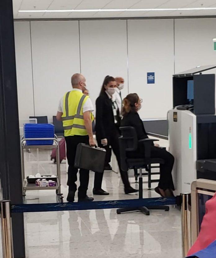 Passageiros no aeroporto de Florianópolis. Foto: Divulgação/Internet