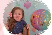 """Lívia Alves Locks, de Tubarão, completa 4 anos amanhã (6) e a família lança o """"Desafio Solidário de aniversário"""""""