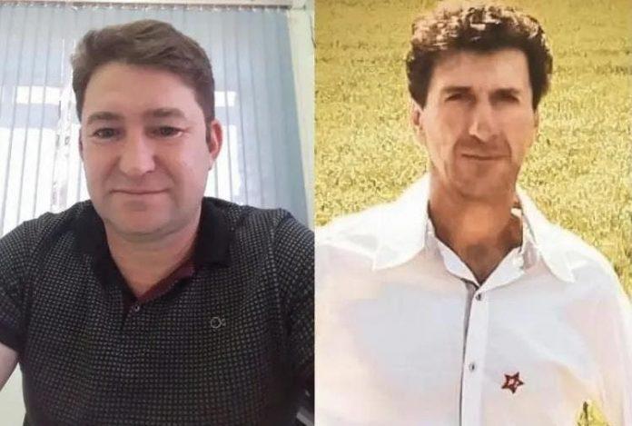 #Pracegover Foto: na imagem há dois homens. Um de camisa preta e outro de camisa branca