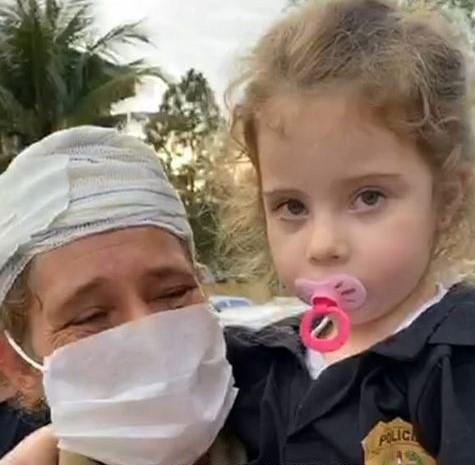 Menina raptada dentro da própria casa em Palhoça é encontrada pela polícia - Notisul