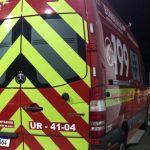 #Pracegover Foto: na imagem há uma viatura do Corpo de Bombeiros