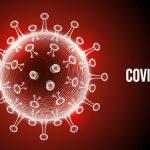 #Pracegover Foto: na imagem há um símbolo de vírus