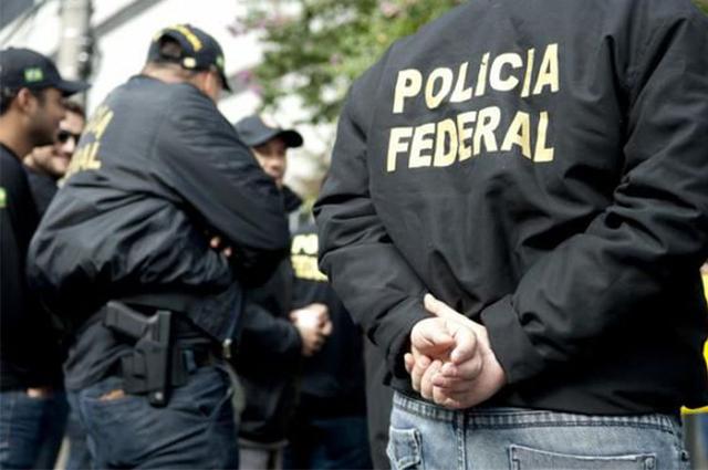 #Pracegover Na foto, agentes da Polícia Federal