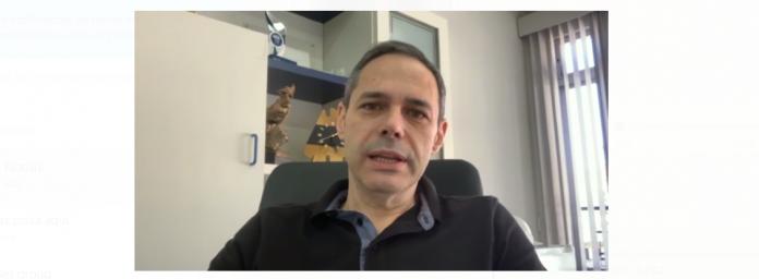 #Pracegover Na foto, Presidente da Fundação de Saúde de Tubarão, Daisson Trevisol