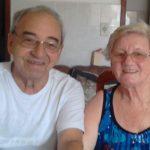 #pracegover Na foto, Dão aparece com a esposa Arina