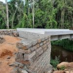 #pracegover Na foto, ponte em construção