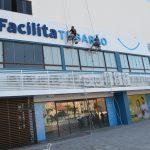 #Pracegover Na foto, fachada da nova sede da Central do Cidadão em Tubarão