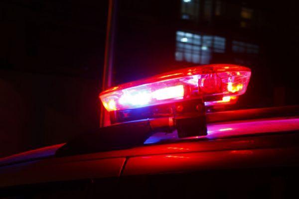 #Pracegover Na foto, giroflex de uma viatura de polícia