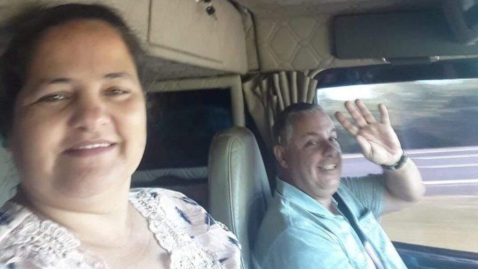 #Pracegover Na foto, Rita e Paulo aparecem sorrindo