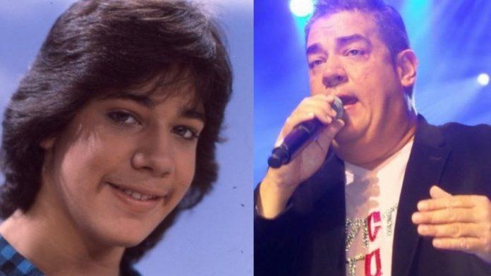 #Pracegover Na foto à esquerda Ray aparece jovem e à direita ele aparece em uma imagem recente