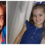 #Pracegover Na foto, Ubiratan e a filha Evelyn
