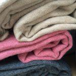 #Pracegover Foto: na imagem há cobertores