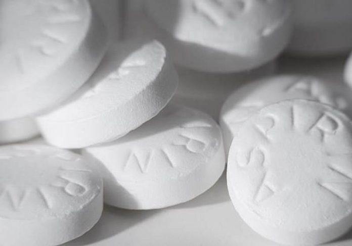 #Pracegover Na foto, comprimidos de aspirina
