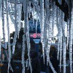 #Pracegover Foto: na imagem há gelo