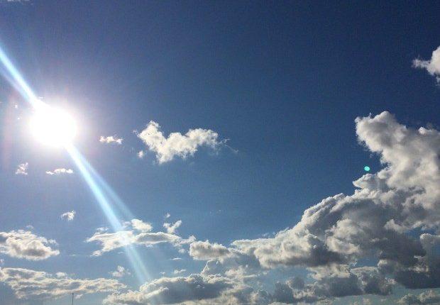 #Pracegover Na foto, presença de sole nuvens