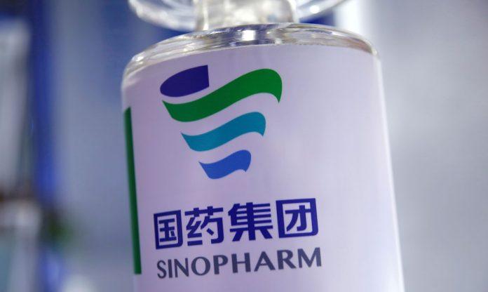 #Pracegover Foto: na imagem há um frasco de vacina