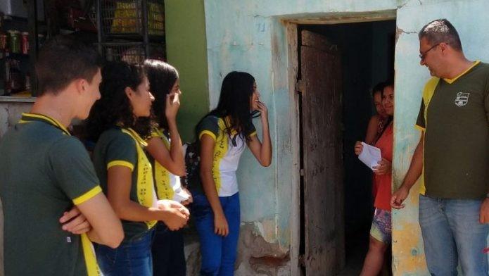 Alunos levam motivação para colegas não abandonarem os estudos, no Ceará