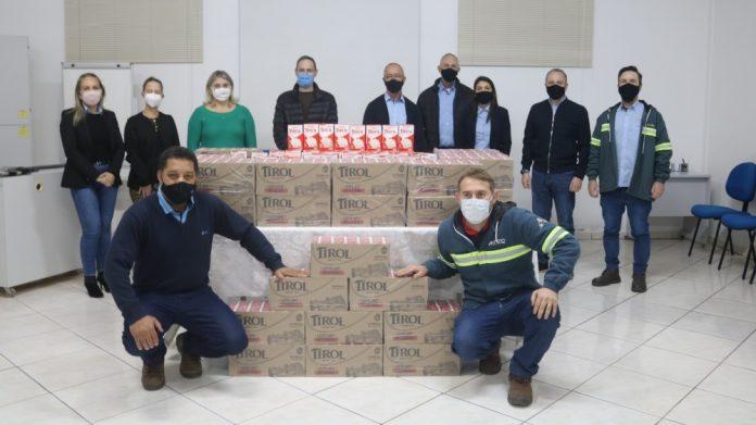 Empresa mobiliza colaboradores para contribuir com campanha de arrecadação de alimentos