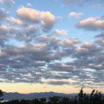 #Pracegover Na foto, céu com poucas nuvens