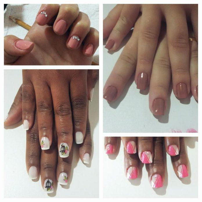 #Pracegover foto: na imagem há mulheres com unhas feitas