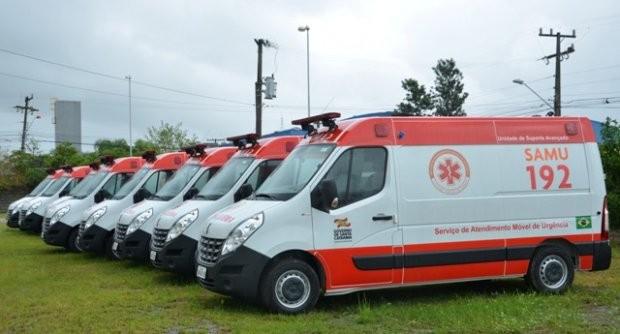 #Pracegover foto: na imagem há vários veículos